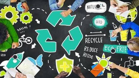 "How you can practice closed loop recycling (""example of earth day practice to make a difference"") 