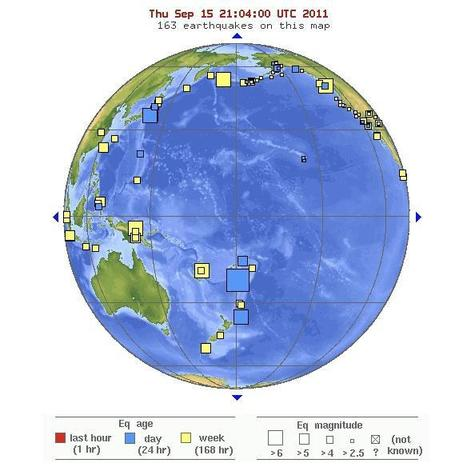 Several Large Earthquakes in Recent Days Unrelated, Scientist Says | Geospatial | Scoop.it