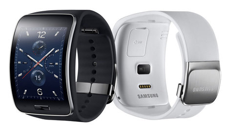 Samsung announces curved Gear S smartwatch with 3G | UX-UI-Wearable-Tech for Enhanced Human | Scoop.it