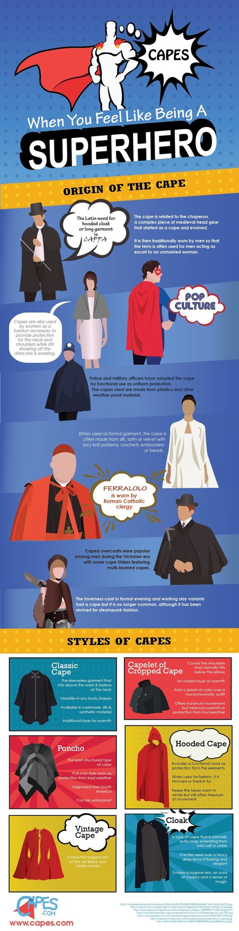 Capes – When you feel like being a Superhero | Infographics | Scoop.it