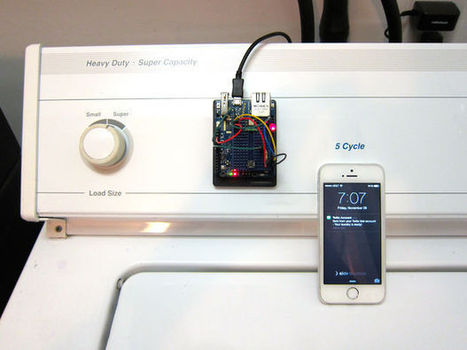 Washer Dryer Laundry Alarm using Arudino & SMS Text Messaging Alerts | DIY electronics | Scoop.it