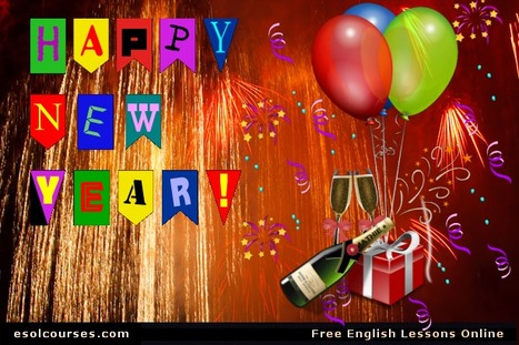 Celebrating The New Year | Topical English Activities | Scoop.it
