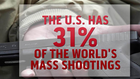Study: US is a global leader ... in mass shootings, expect another one in 64 days | Global politics | Scoop.it