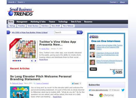 40 Must Read Blogs for Entrepreneurs @sujanpatel   Micro-business   Scoop.it