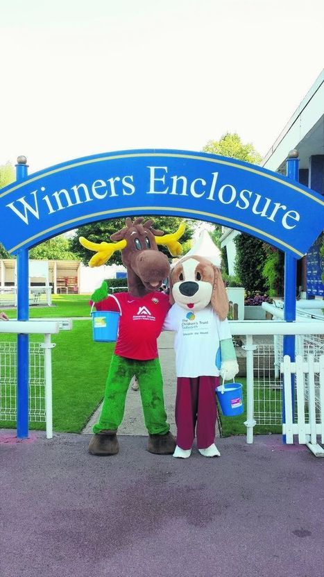 Scotty the Stag raises £260 for The Children's Trust Hospital | Windsor FC Supporters Club Newsletter | Scoop.it