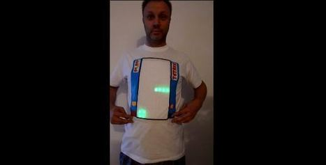Who want to play Tetris on their t-shirt? Checkout this cool new Wearable Slashgear | tshirts | Scoop.it