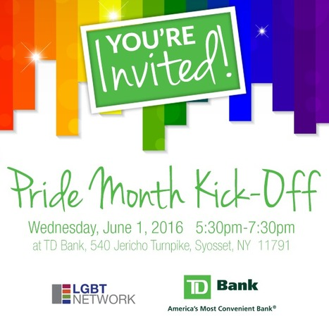 Kick-Off Pride Month With A Chance To Win TD VIP Select Tickets! | LGBT Network | Scoop.it