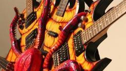 Eight Is Enough: Justin Stone's Rocktopus Eight-Neck Guitar | Around the Music world | Scoop.it