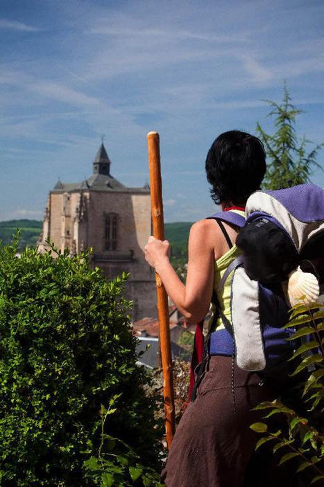 Compostelle : un nouvel itinéraire relie Conques (voie du Puy-en ... | Le Tourisme en Haute-Loire | Scoop.it