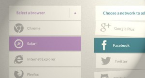 Simple Effects for Drop-Down Lists | Mnemosia: Graphics, Web, Social Media | Scoop.it