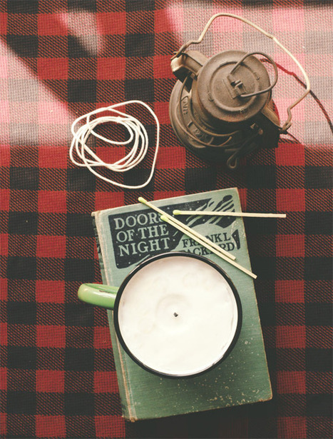 How to: Make DIY Rustic Masculine Candles | DIY crafts and more | Scoop.it
