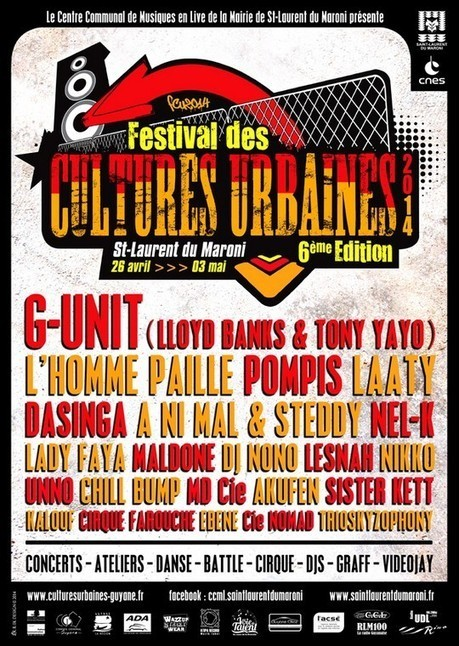 6ème édition du Festival des Cultures Urbaines | Rap , RNB , culture urbaine et buzz | Scoop.it