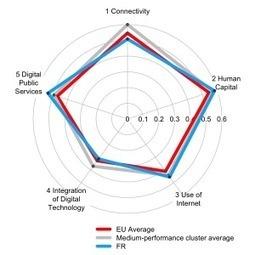 Portrait de la France numérique : accès, compétences et utilisation en 2015 (par la Commission européenne) | Animateur de communauté | Scoop.it