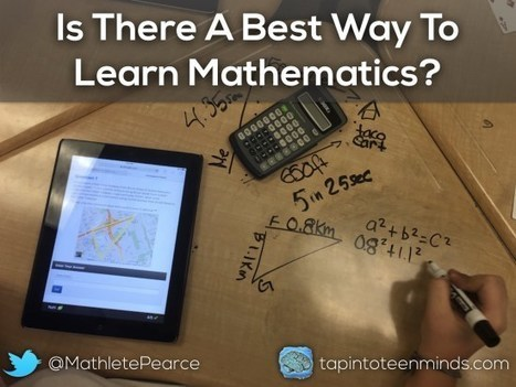 Is There a Best Way to Learn Mathematics? | Professional Learning for Busy Educators | Scoop.it