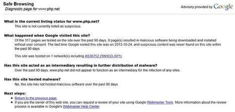 PHP.net Web Pages Serving Up Malware | The State of Security | php | Scoop.it