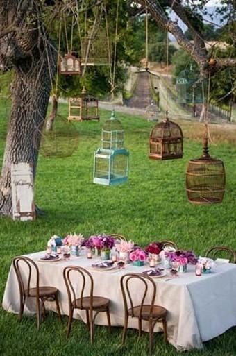 Decorar con jaulas de pájaros recicladas. Decoración DIY. | Mil ideas de Decoración | EUDOG | Scoop.it