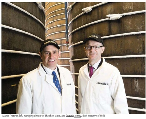 Trade boss gets taste of West cider industry - Western Daily Press | UK Trade & Investment media coverage | Scoop.it