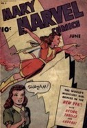 Mary Marvel Comics Fawcett Comics 13 Issues | Senior Seminar- Women, Comics, and WWII | Scoop.it