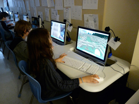 Camp Minecraft: How educators use the block-building game to inspire kids to code   21st C Education   Scoop.it