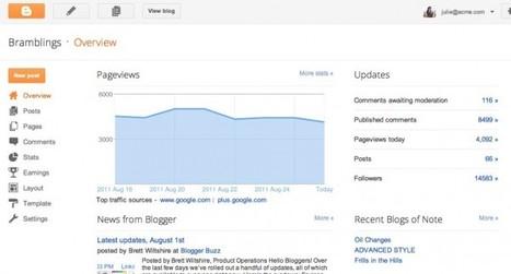 Google libera la nueva versión de Blogger | Web 2.0 en la Educación | Scoop.it