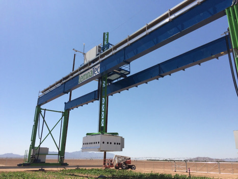 Farming UK News - LemnaTec unveils the largest field phenotyping robot in the world | CALS in the News | Scoop.it