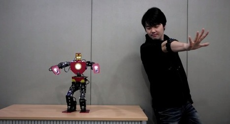 Watch A Myo-Controlled Humanoid Robot Lay The Groundwork For Real-World 'Real Steel' | TechCrunch | Heron | Scoop.it