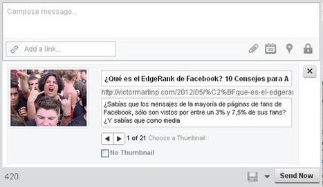 3 Herramientas Gratuitas para Programar tus Posts en Facebook | Víctor Martín | Social Media Today | Scoop.it
