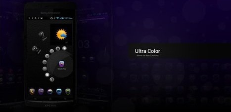 UltraColor Theme NextLauncher - v1.1 APK - AndroTreasure | Android Paid Apps Download. | Scoop.it