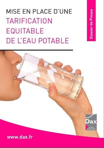 Une tarification équitable de l'eau potable à Dax | Institutionnels | Scoop.it