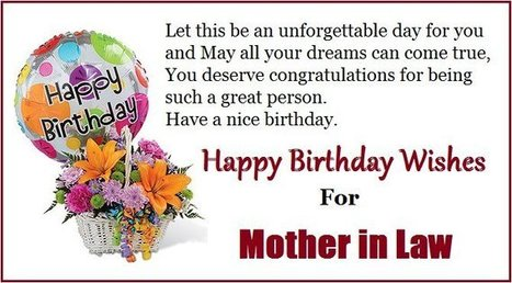 Happy Birthday Quotes for Mom in Law   Entertainment   Scoop.it