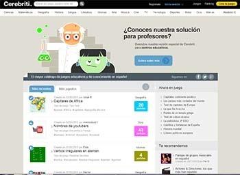 Cerebriti, una plataforma para crear y compartir juegos educativos de manera gratuita - Educación 3.0   Contenidos educativos digitales   Scoop.it