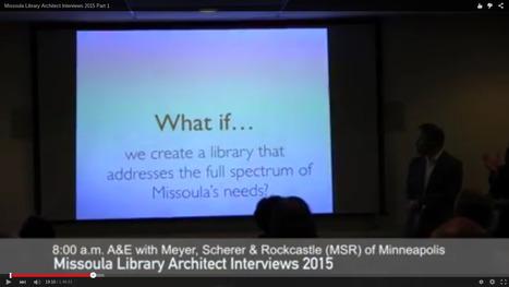 A&E wins Missoula Public Library design contract - The Missoulian | SocialLibrary | Scoop.it