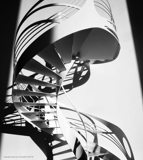 La Stylique: Escalier design hélicoïdal: l'art du colimaçon | Escalier Design Mobilier Contemporain de style Art Nouveau | Scoop.it