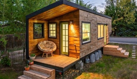 Woman Builds Tiny House That's Small In Size But Big In Creativity – See It ... - The Inquisitr | Small Spaces | Scoop.it