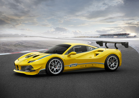 Up To The Challenge: Ferrari Announces 488 Challenge | Motor Verso Car News | Scoop.it