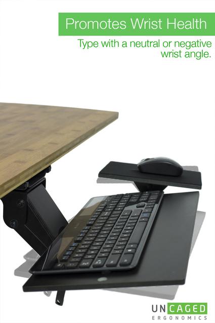 KT1 - Adjustable Ergonomic Keyboard Tray   Adjustable Ergonomic Stand Up Desk   Scoop.it