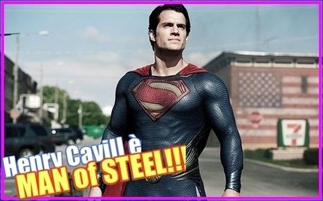 JHPbyJIMIPARADISE™: Man of Steel: da oggi nelle sale italiane! | WEBOLUTION! | Scoop.it