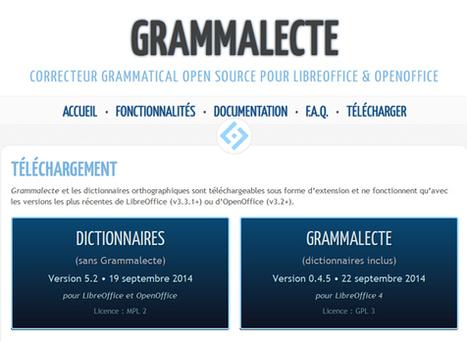 Correcteur grammatical dédié à la langue française, pour LibreOffice & OpenOffice. | Time to Learn | Scoop.it