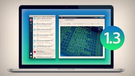 Airmail : le petit client mail pour mac qui monte - Be Geek   Vivre sans Mac ?   Scoop.it