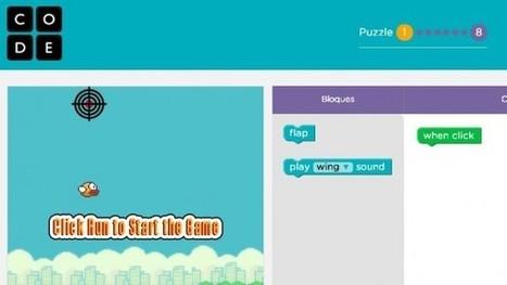 Code.org convierte Flappy Bird en un tutorial de programación para principiantes | Jeux éducatifs | Scoop.it