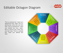 Free Editable Octagon Diagram for PowerPoint | ppt octagon | Scoop.it
