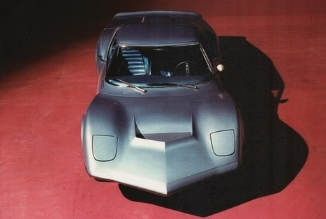 Experimental rear-engined Corvette to appear at Amelia Island   Vette-News   Scoop.it