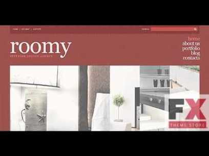 Preview Brown and Orange Interior Design WordPress Theme by | General SEO | Scoop.it