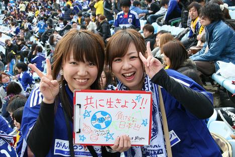 [Photo] Smile for Japan  | Ganba Kesennuma | Japon : séisme, tsunami & conséquences | Scoop.it