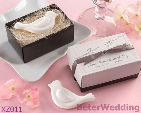 Aliexpress.com : Buy 30box Free Shipping XZ011 Love Dove Soap Favor used as birthday gifts and wedding favors from Reliable Party deocoration suppliers on Your Unique Wedding Favors | Soap Gift Set, Wedding Bubbles | Scoop.it