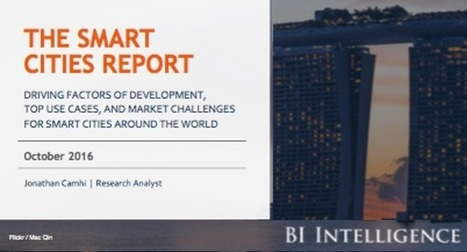 The Smart Cities Report by Business Insider | Smart Cities in Spain | Scoop.it