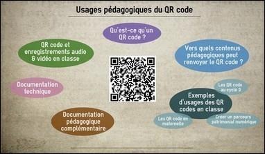#ClasseTICE - Usages pédagogiques du QR code | culture Web 2.0 | Scoop.it