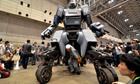 Japanese launch 4.5-tonne gun-toting robot controlled by smartphone | The Robot Times | Scoop.it