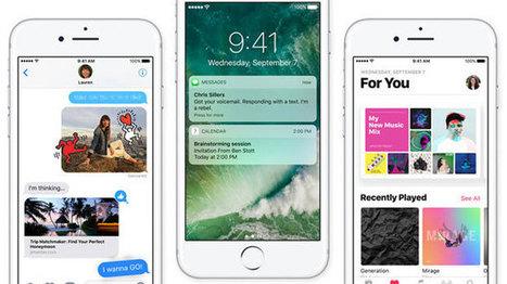 Oups. Apple a affaibli dans iOS 10 la sécurité des sauvegardes | Renseignements Stratégiques, Investigations & Intelligence Economique | Scoop.it