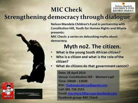 Strenghtening democracy through dialogue | Joburg Photos | Scoop.it